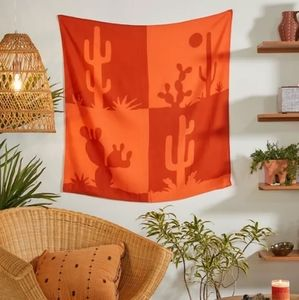 NWT UO Mara Cactus Linen Blend Tapestry
